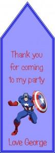 captain america tag